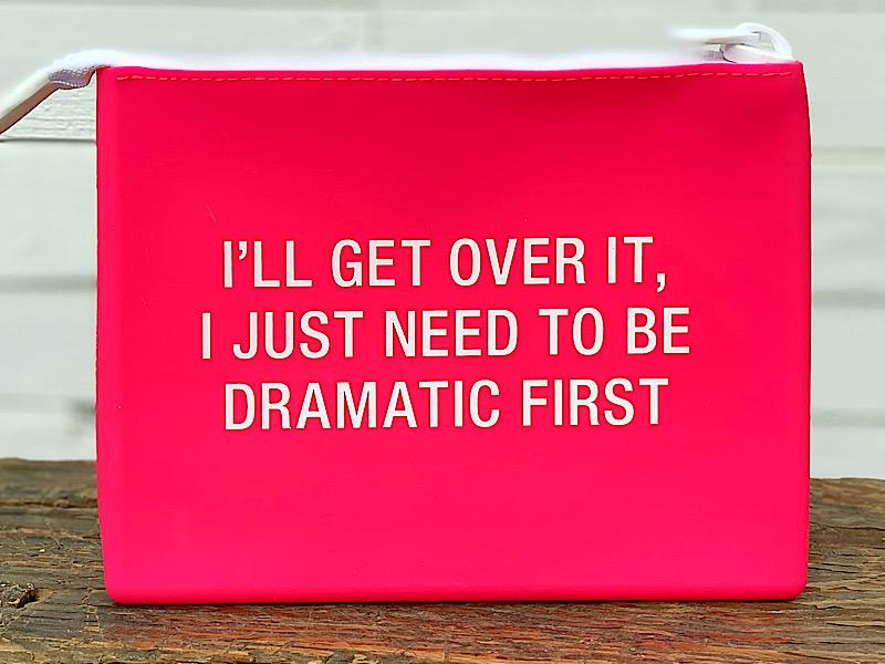 Dramatic First Silicone Cosmetic Bag,129318