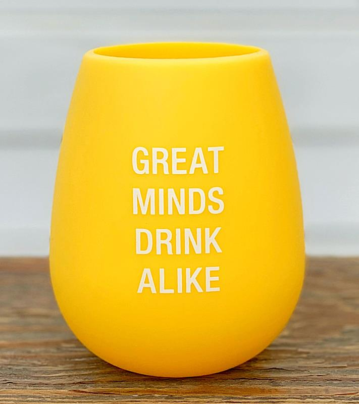 Great Minds Silicone Wine Cup,129127