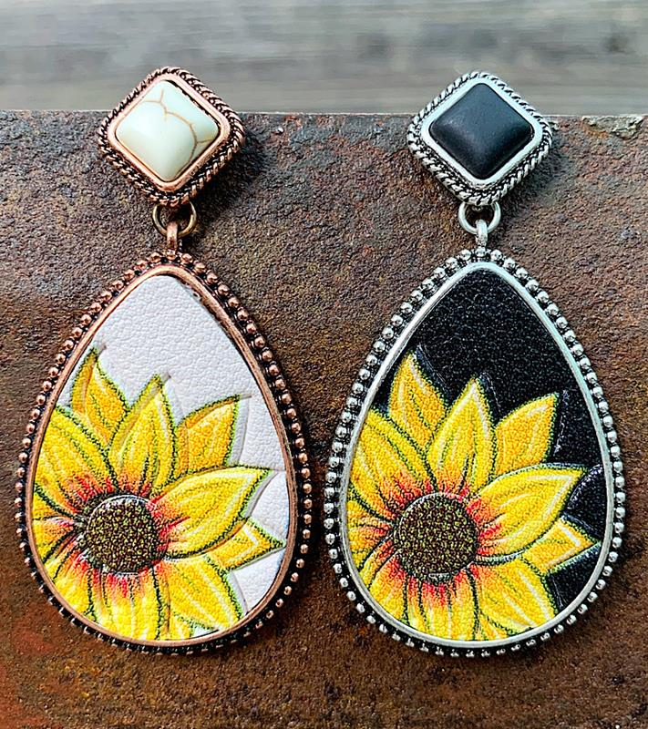 Ray of Sunshine Earrings,RAYOFSUN-ER-WHITE