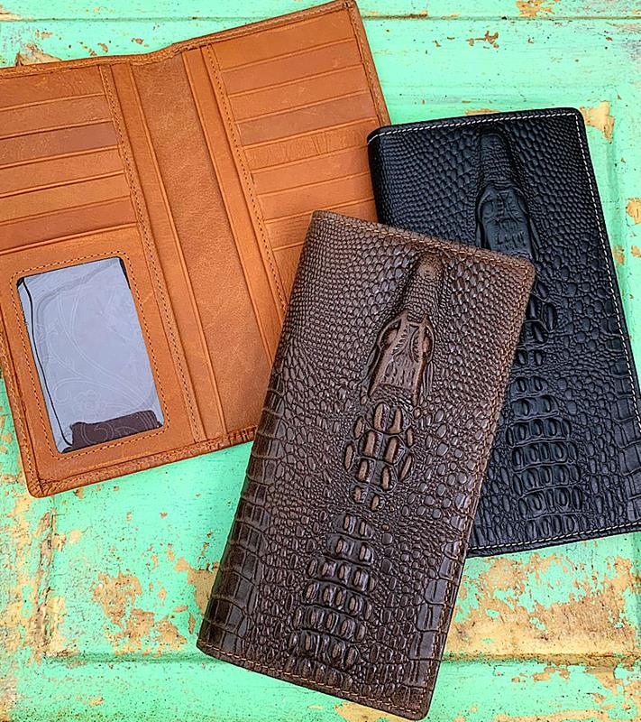 Ranch Secretary Wallet,TR100W010-DKBRN