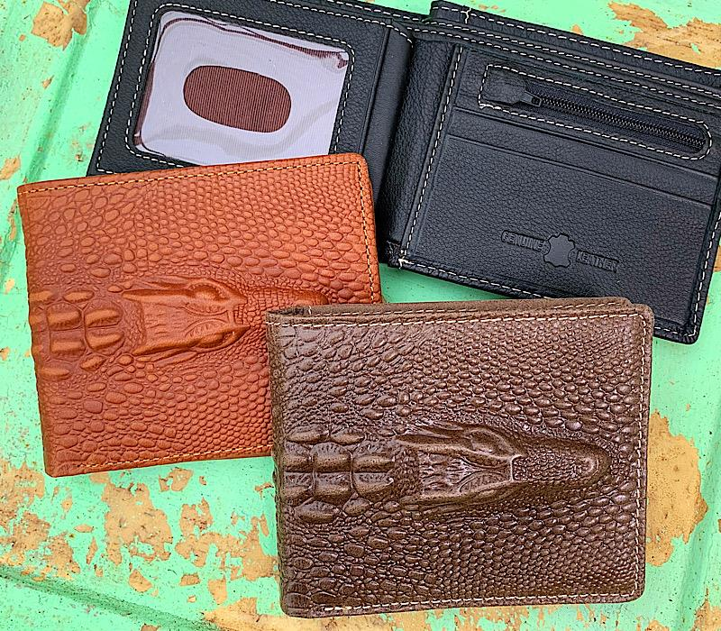 Ranch Bi-fold Wallet,MWS0108-DKBRN